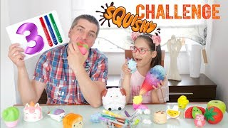 ♥ SQUISHY 3 MARKER CHALLENGE | Pusheen Girl