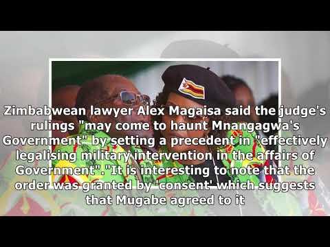 Military action against mugabe was legal, zimbabwe judge rules