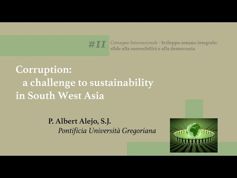 #11 Corruption: a challenge to sustainability in South West Asia (Albert Alejo, SJ)