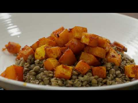 SIZZLE: How to make tasty butternut and lentil salad