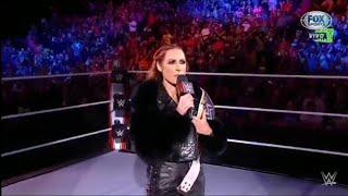 Becky Lynch Regresa A Raw Raw Español 04 10 21