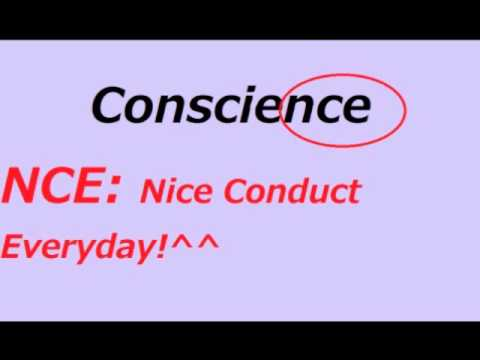 What's the Difference? Conscience vs. Conscious