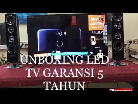 """UNBOXING LED TV POLYTRON PLD32T7511 32"""" GARANSI 5 TAHUN"""