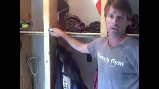 How To Build Lockers For Athletic Equipment