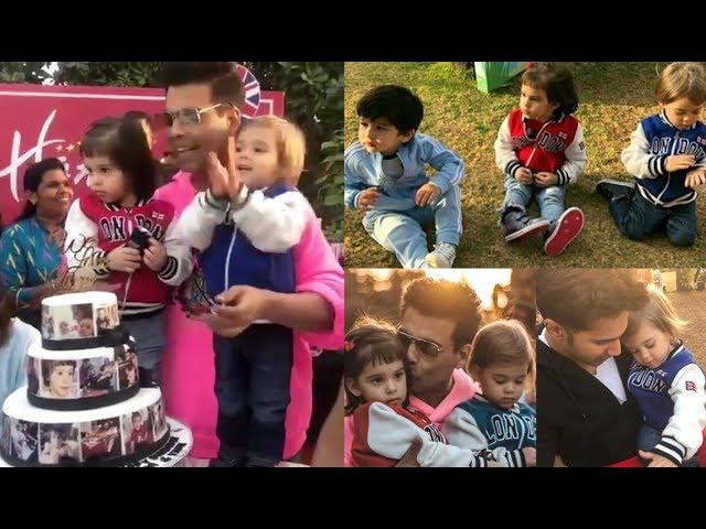 Karan Johar Twins Roohi And Yash Johar 2nd Birthday Party