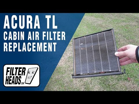How to Replace Cabin Air Filter 2010 Acura TL