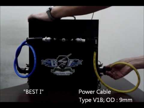 Video   Spark Energy Comparison   Motorcycle Cable   BEST I vs Asia popular Conventional Cables