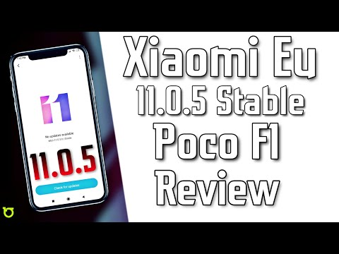 Poco F1 - Xiaomi Eu 11.0.5 Stable ROM Review - What's Change Here For You - HINDI