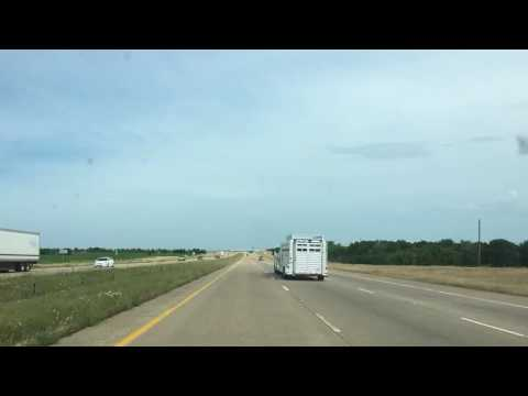 Dallas to Houston time lapse