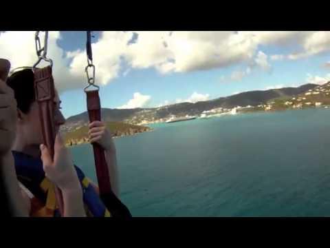 Parasailing St Thomas US Virgin Islands, Parasail St John, Caribbean Parasailing Paragliding