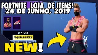 Fortnite Shop-today's shop 24/06/2019 new Skin