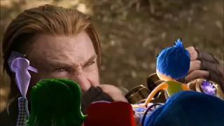 Inside Out Emotions Watching Avengers Infinity War Trailer