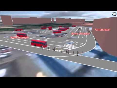 Автовокзал Красногвардейский (проект)