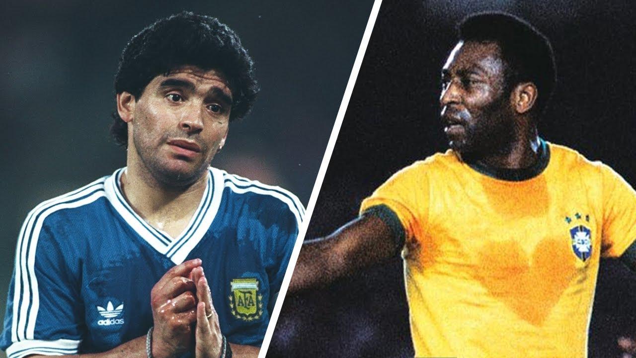 Maradona vs Pelé - Qui est le plus Grand ?