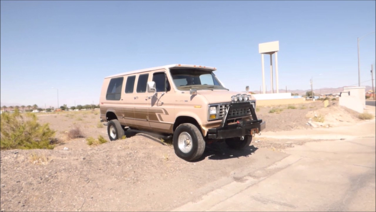 top brands outlet store really cheap 1988 FORD E350 4X4 UP ON EBAY FOR SALE