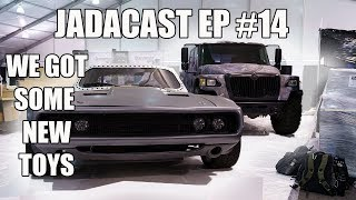 The Rock Let Us Borrow His Car at SEMA - Jadacast Ep #14