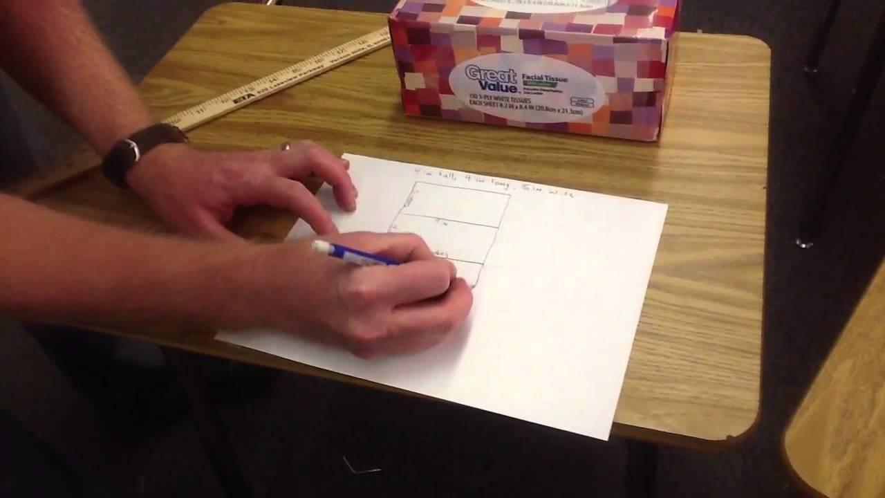 how to make a rectangular prism net