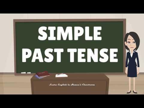 Simple Past Tense | English Grammar Lesson | English Tenses | English Lesson