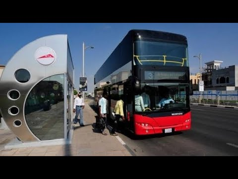DUBAI TO SHARJAH || METRO DOUBLE DECKER TOUR || CHEAPEST WAY TO TRAVEL IN DUBAI