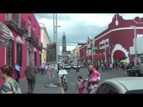 Walking in Tepic Mexico streets, part 1 of 2     Jan 2015