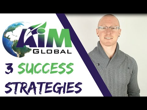 AIM Global Marketing Plan – How To Sell AIM Global Products Online – AIM Global Networking Tips