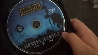 Unboxing The Lion King 2-Disc Special Edition Platinum Edition DVD