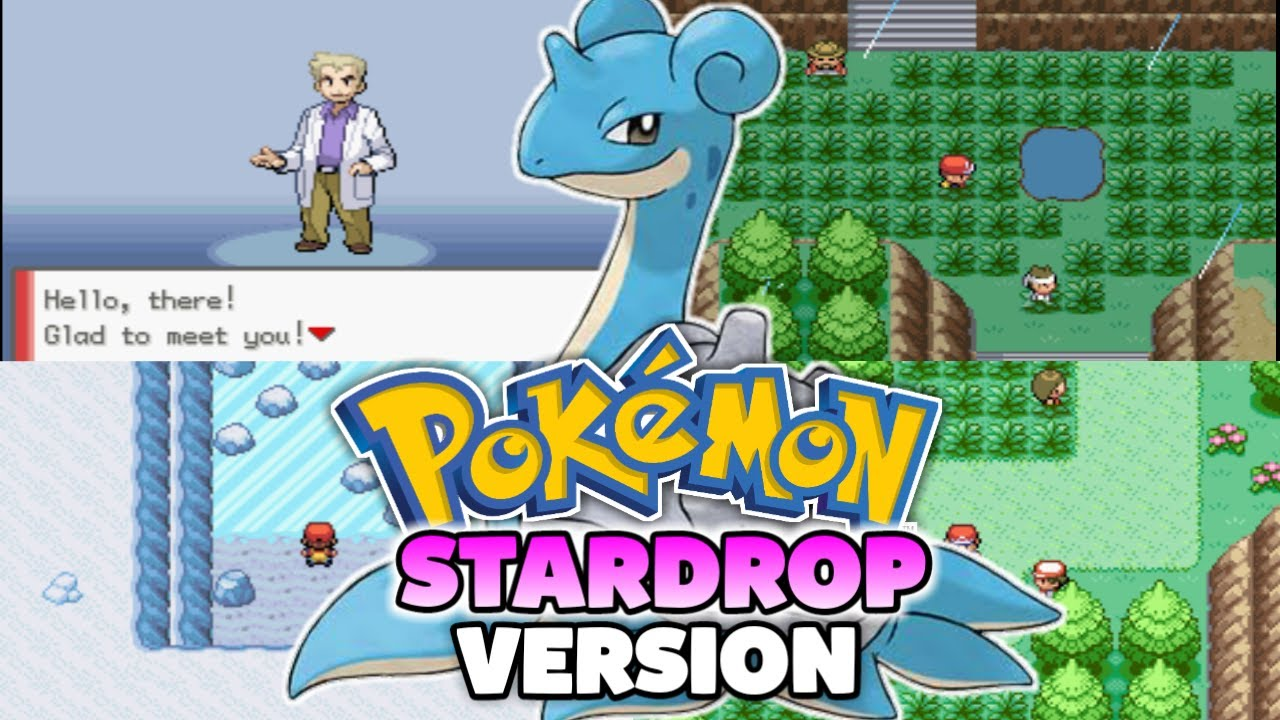 Pokemon Gba Rom Hack With New Starters New Characters Time