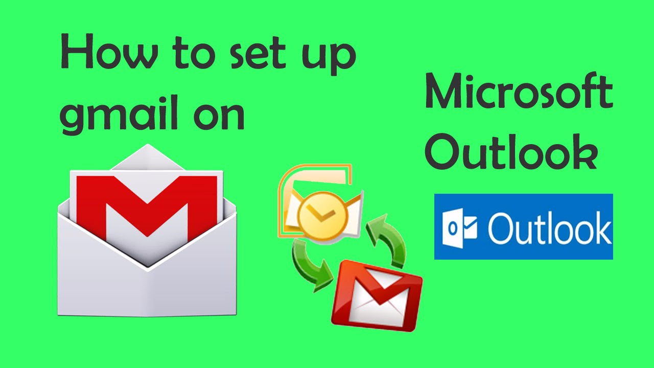 how to put gmail on outlook 2010