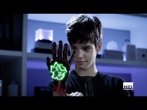 Aura is Here! See The Drone Kids Control With a Glove!
