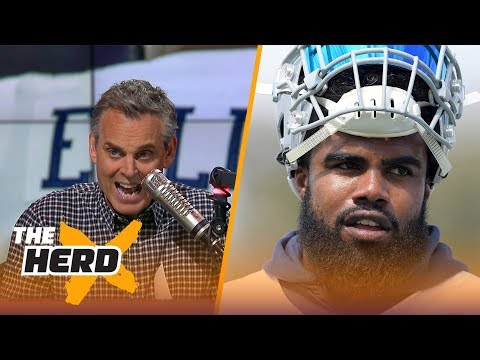 Jerry Jones is unhappy with Ezekiel Elliot punishment - is he justified? | THE HERD