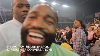 Broner diss me when I ask him bout his Instagram Scary Post!Calls OCampo Mandown walking by!