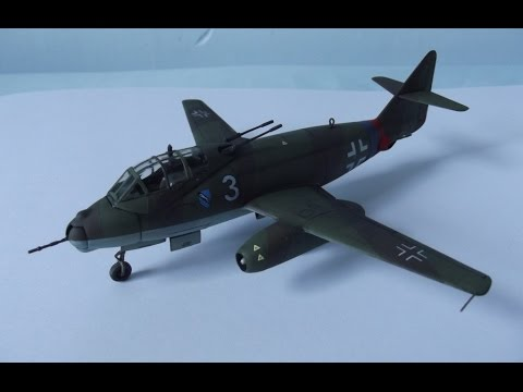 Revell 1/72 Messerschmitt Me P.1099B Heavy Fighter Photo Build Guide
