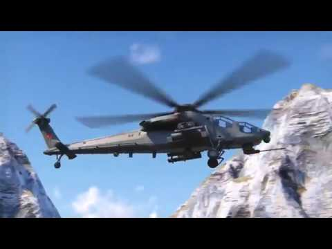Turkish Aerospace Heavy Attack Helicopter CGI Video...