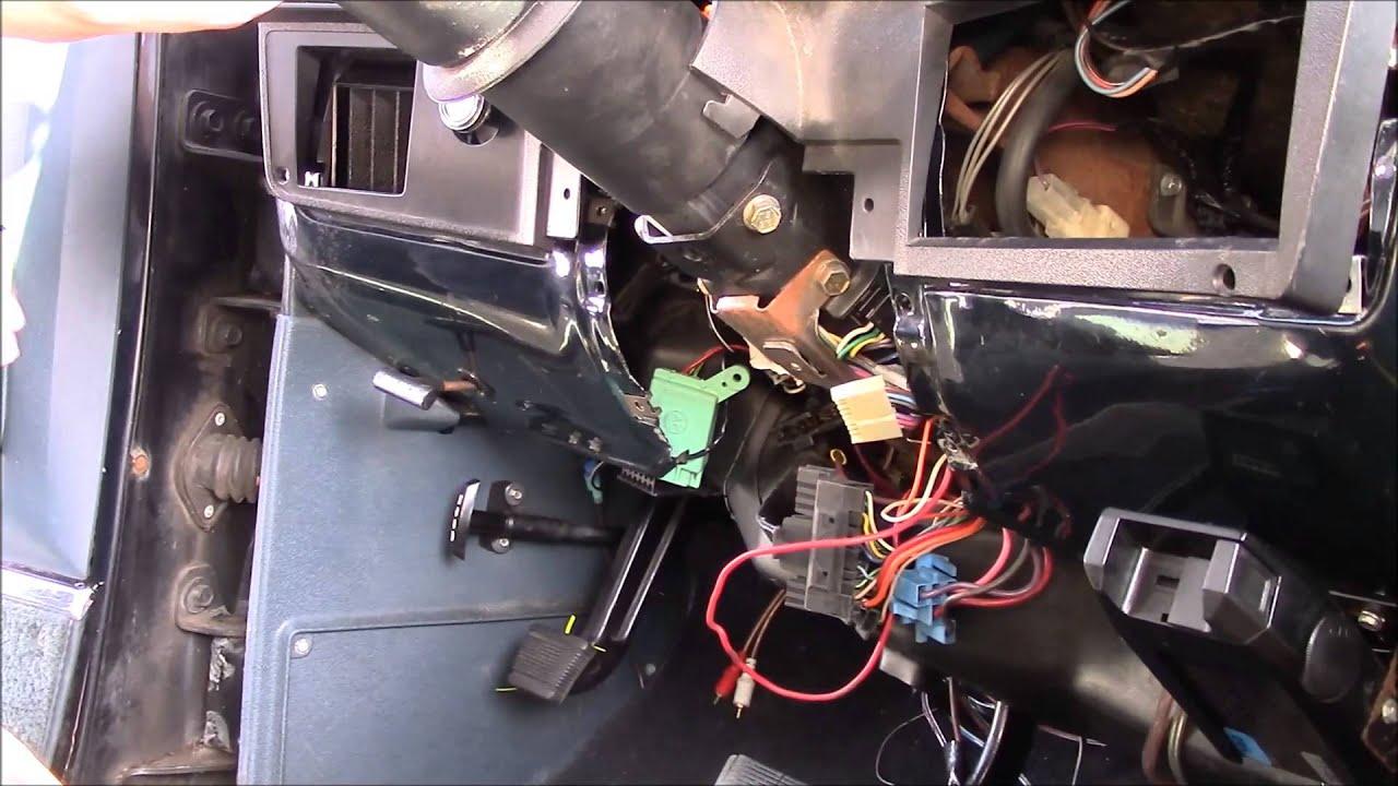 steering column swap 1989 k5 blazer [ 1280 x 720 Pixel ]