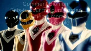 Karaoké générique Bioman 2 Maskman Dis moi bioman long