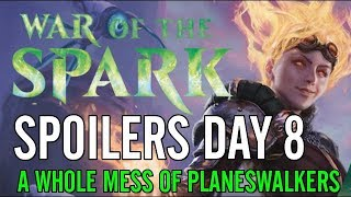 War of the Spark Spoilers: A Buttload of Planeswalkers!