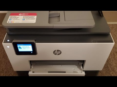 HP OfficeJet Pro 9025 All-in-One Printer Setup & Review