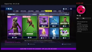 Fortnite Save The World Legendary giveaway