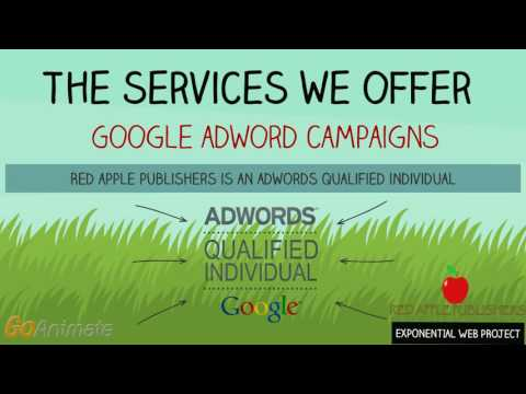 Red Apple Publishers Online Advertising Exponential web project