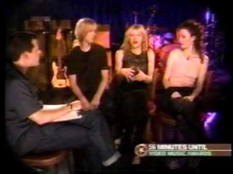 Courtney Love / Hole interview 1998 MTV VMA
