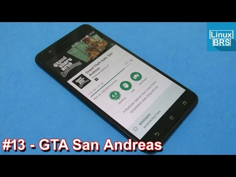 Gameplay Android - GTA San Andreas - Asus Zenfone 3 Zoom