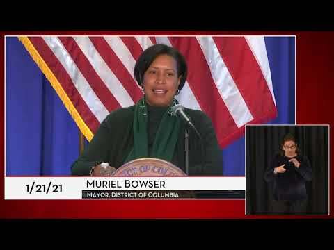 Mayor Bowser Provides Situational Update, 1/21/21 | 202DC