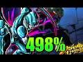 Metal Cooler 498% Showcase    Dragon Ball Legends
