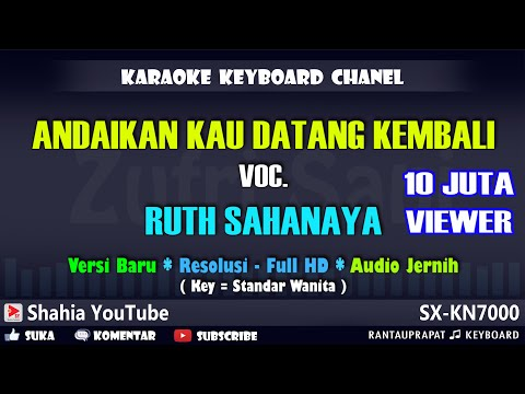 Andaikan Kau Datang Kembali Karaoke Lawas
