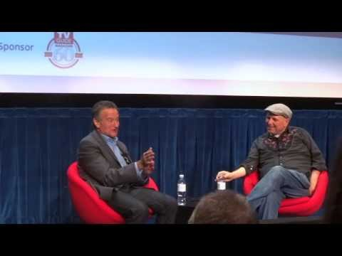 """Robin Williams Crows Like Peter Pan from """"Hook"""" at Paley Center"""