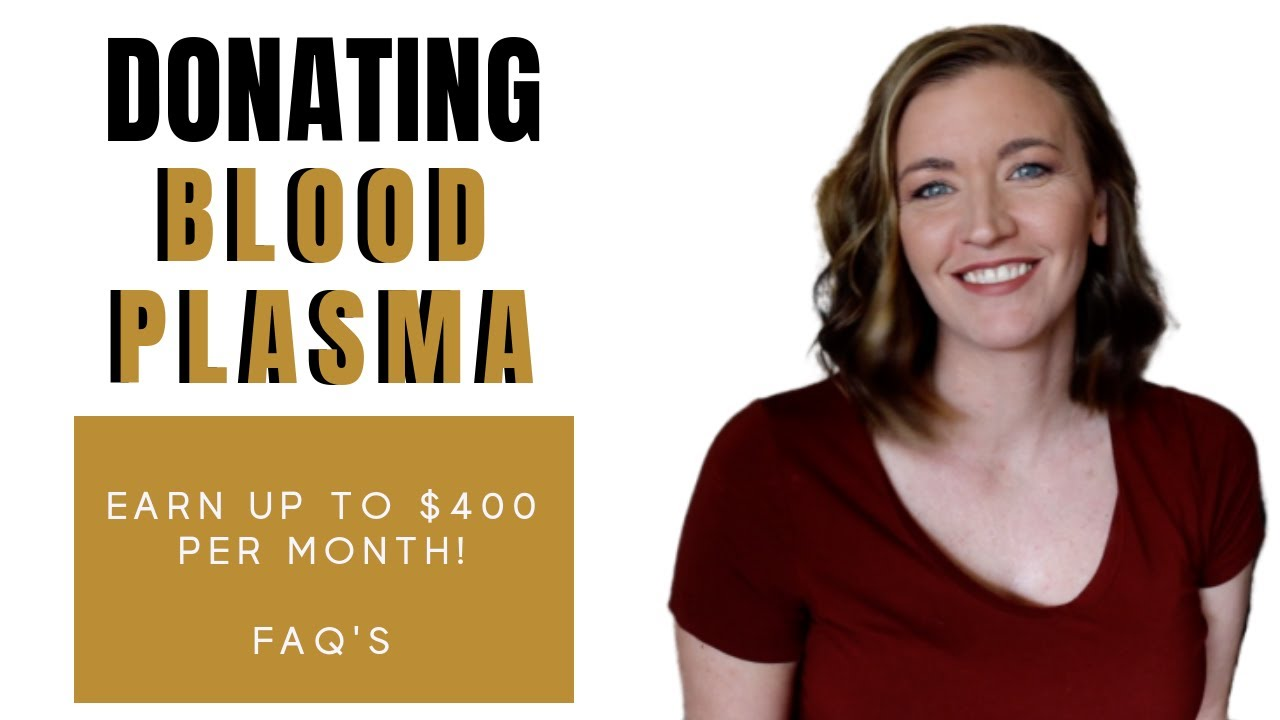 Get Paid to Donate Plasma ($300 - $400 Per Month) - Vital Dollar