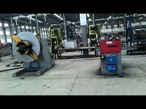 Upright post production in Jiangsu Huayi Zhongheng Metal Development Co., Ltd