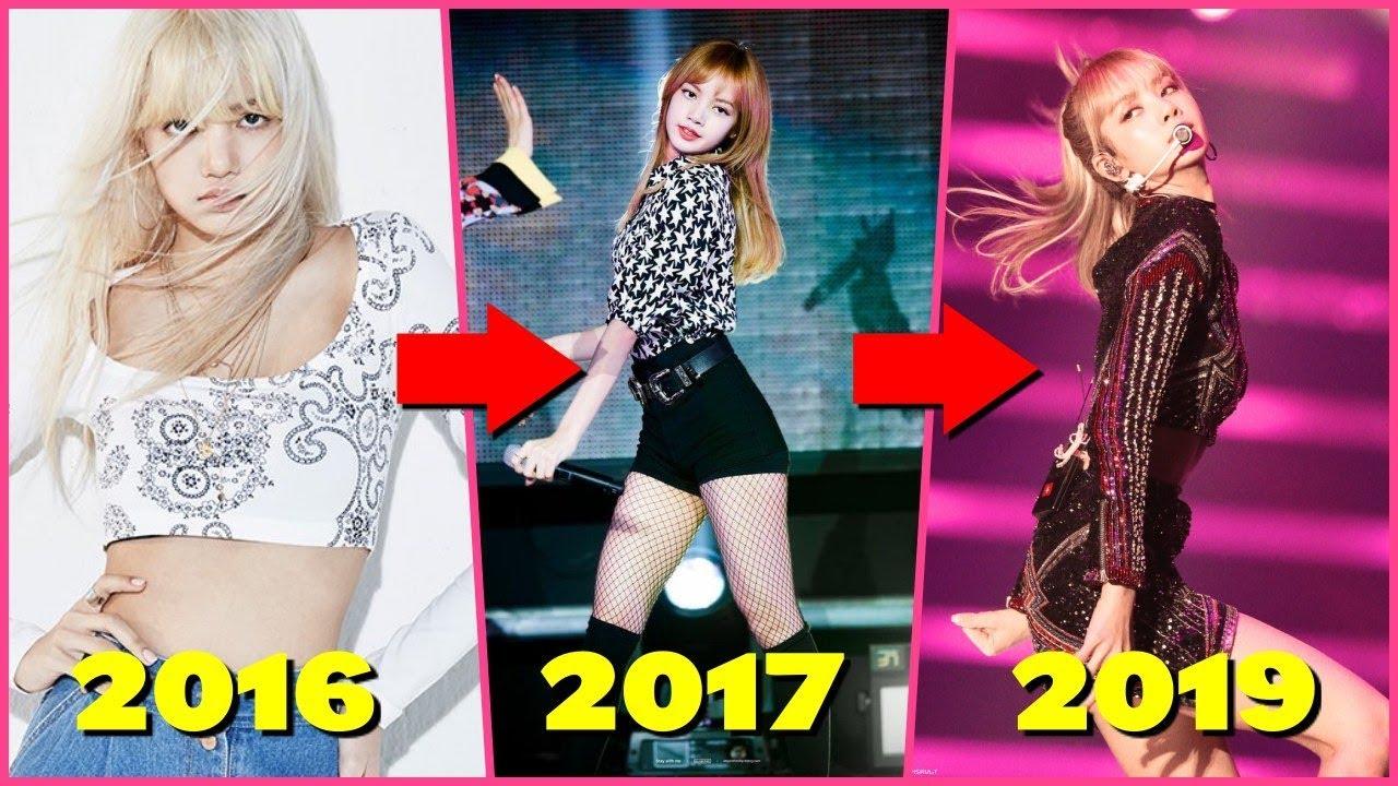 Blackpink Lisa Body Transformation 2016 2019 Youtube