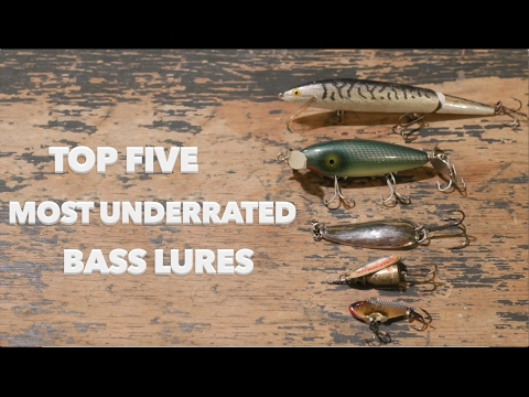 Top Five Most Underrated Bass Lures