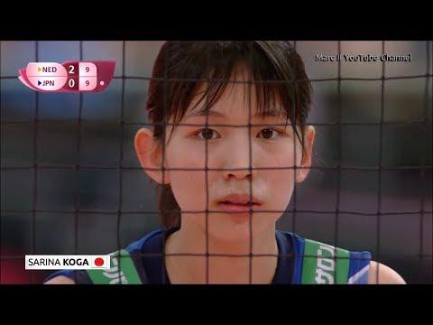 Japan - Best of Sarina KOGA - JPN vs NED in 2017 FIVB World Grand Prix